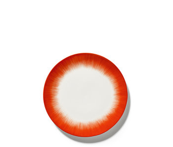 Serax Dé Bord Off-White/Red VAR5 28 cm