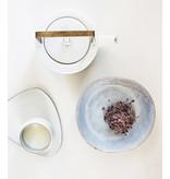 HK Living Kyoto Ceramics Teapot White