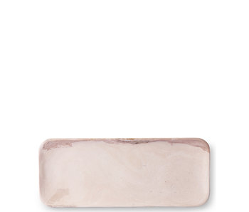 HK Living Marble Tray Pink