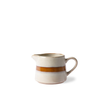 HK Living Ceramic 70's Creamer Snow