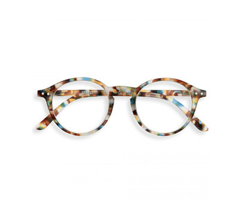 Izipizi Reading Glasses - Leesbril #D Blue Tortoise +