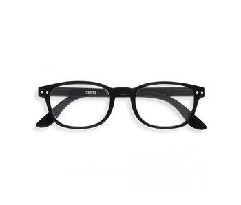 Izipizi Reading Glasses - Leesbril #B Black UIT +