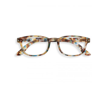Izipizi Reading Glasses - Leesbril #B Blue Tortoise +
