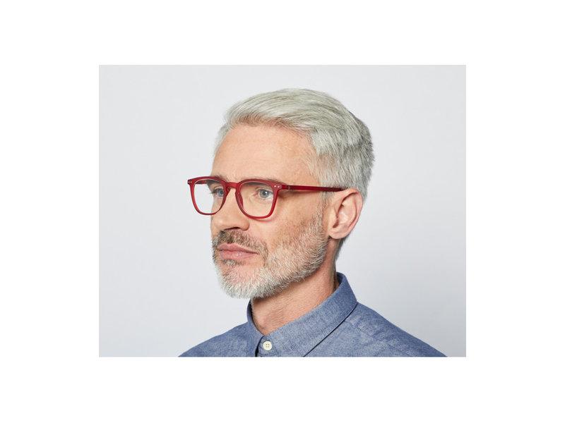 Izipizi Reading Glasses - Leesbril #E Red +