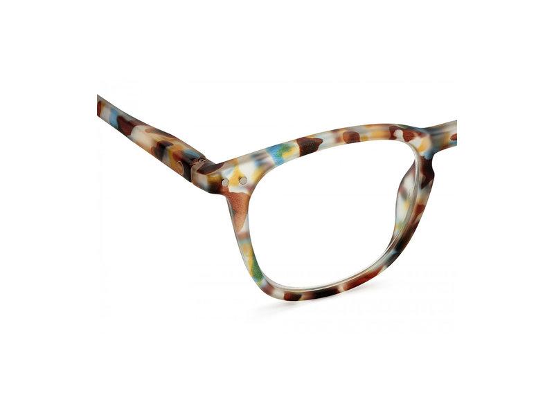 Izipizi Reading Glasses - Leesbril #E Blue Tortoise +