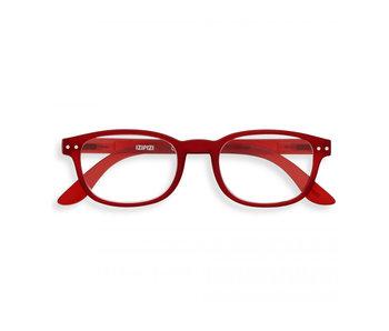 Izipizi Reading Glasses - Leesbril #B Red UIT +