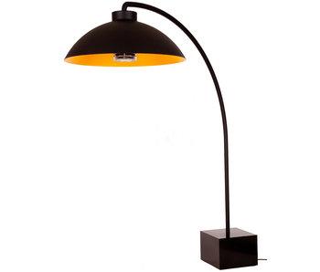 Heatsail Dome Staanlamp Zwart/Goud