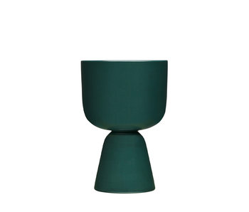 Iittala Nappula Plant Pot 230/155 Dark Green