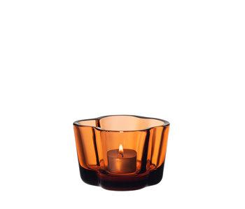 Iittala Alvar Aalto Tealight Holder Sevilla Orange