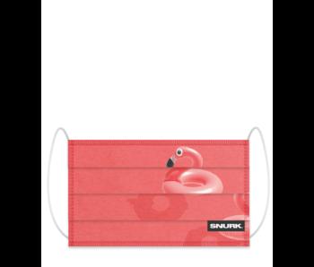 Snurk Facemask Floating Flamingo