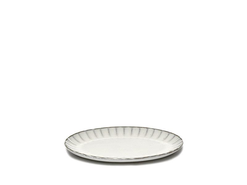 Serax Inku Plate Oval White S