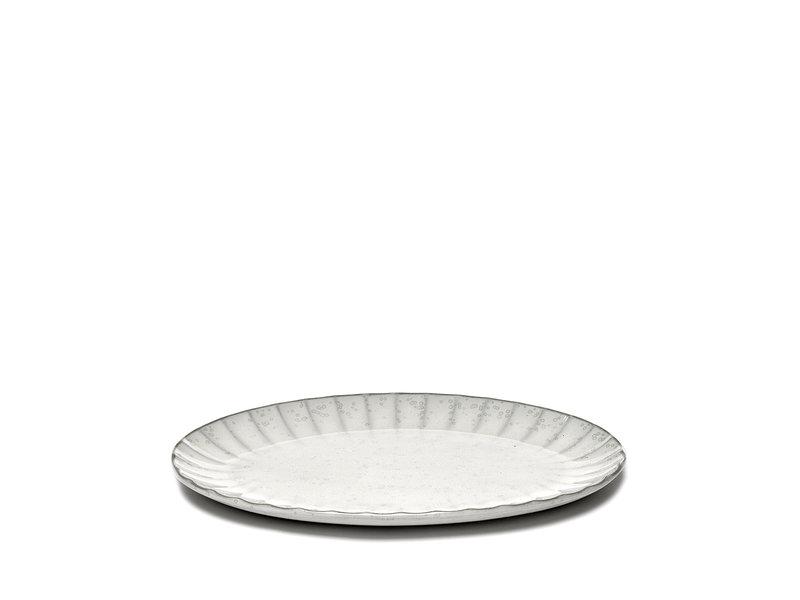 Serax Inku Plate Oval White L