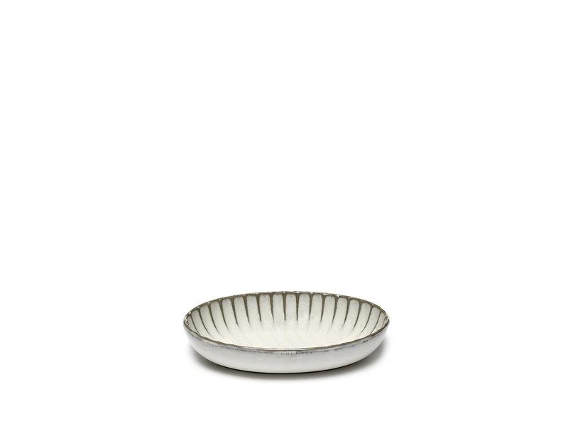Serax Inku Deep Plate Oval White