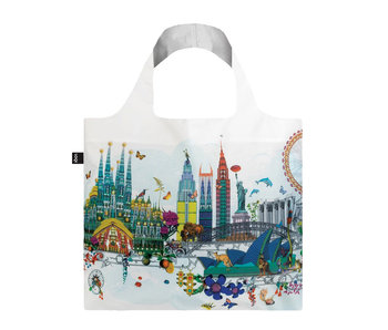 Loqi Bag Kristina S Williams World Skyline