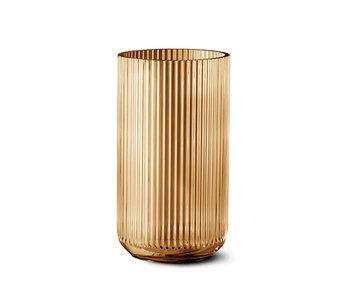 Lyngby Porcelaen Vase Amber 20 cm