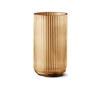 Lyngby Porcelaen Vase Amber 25 cm