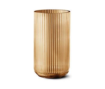 Lyngby Porcelaen Vase Amber 31 cm