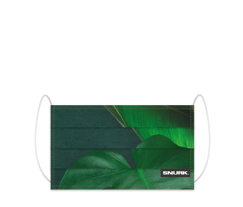 Snurk Facemask Green Forest