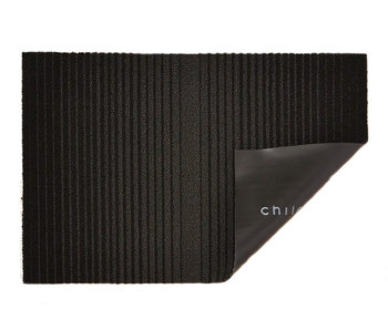 Chilewich Shag Mat Ombre Black