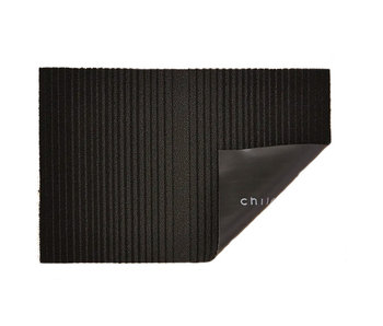 Chilewich Shag Mat Ombre Black 46/71
