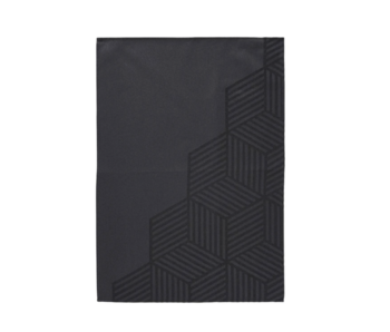 Zone Denmark Tea Towel 50/70 Hexagon Black