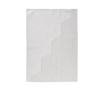 Zone Denmark Tea Towel 50/70 Hexagon Warm Grey