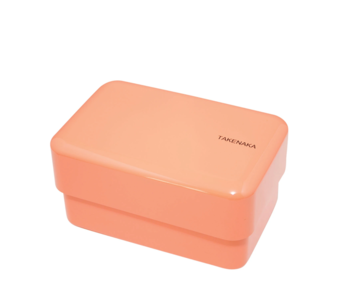 Takenaka Bento Box Rectangle Coral