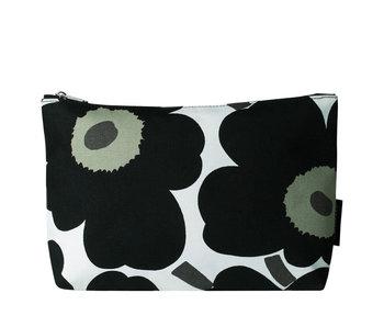 Marimekko Relle Pieni Unikko Cosmetic Bag White/Black