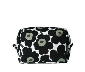 Marimekko Vilja Mini Unikko Cosmetic Bag Black/White