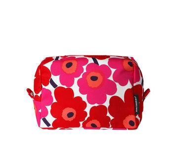 Marimekko Vilja Mini Unikko Cosmetic Bag Red/White