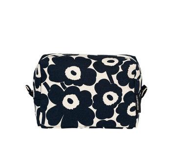 Marimekko Vilja Mini Unikko Cosmetic Bag Blue/White