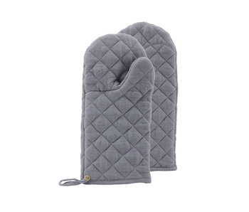Nicolas Vahé Oven Glove Linen Grey 1 pc. UIT