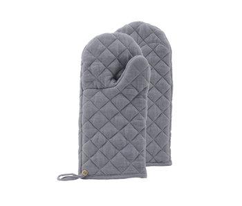 Nicolas Vahé Oven Gloves Linen Grey