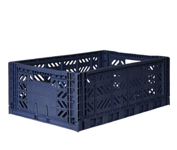 Ay-Kasa Folding Crate Maxi Navy