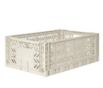 Aykasa Folding Crate Maxi Light Grey