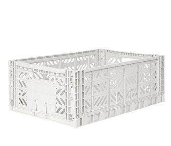 Aykasa Folding Crate Maxi Coconut Milk