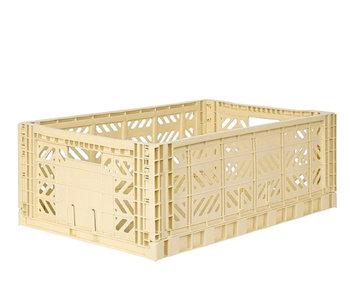 Aykasa Folding Crate Maxi Banana