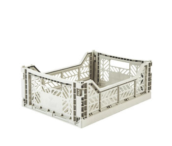 Aykasa Folding Crate Midi Light Grey