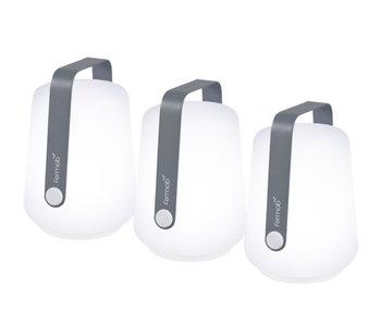 Fermob Balad Mini Lamps 3 pcs. Storm Grey