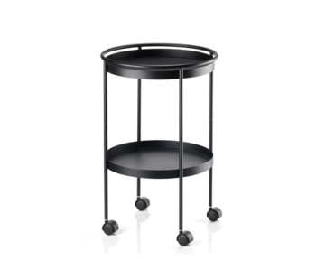 Zone Denmark Bar Trolley Black