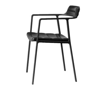 Vipp Chair Black Leather