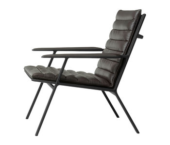 Vipp Lounge Chair Ebony Leather