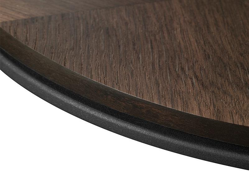 Vipp Vipp 423 Coffee Table Dark Oak Veneer Ø 60 cm
