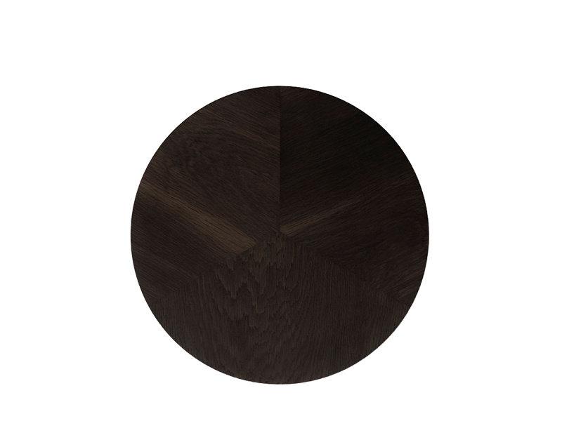 Vipp Vipp 421 Side Table Dark Oak Veneer Ø 40 cm