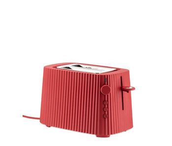 Alessi Plissé Toaster Red