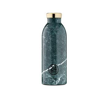 24 Bottles Clima Bottle Green Marble 500 ml