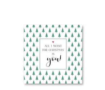PPD Paper Napkins All I Want 33/33