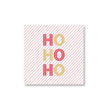 PPD Paper Napkins Ho Ho Ho 33/33