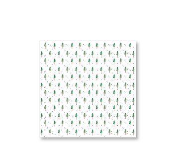 PPD Paper Napkins Small Pine Trees 33/33