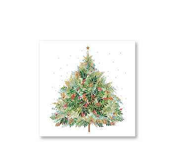 PPD Paper Napkins Christmas Hill Tree 33/33